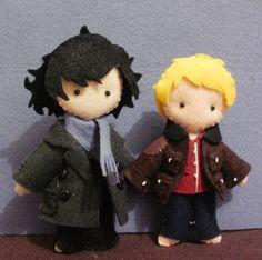Image detail for -Sherlock and John Plushies - Sherlock on BBC One Photo (14852422 ...