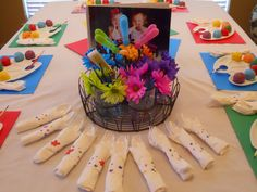 Painting Party Birthday Party Ideas | Photo 1 of 16 | Catch My Party