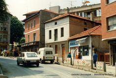 Algortako Etorbidea  y Avenida Basagoiti a la altura de la casa Tangora, 1987 (Colección Daniel Zubimendi) (ref. Z00677)