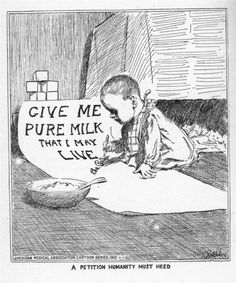 Give me pure milk that I may live, 1914