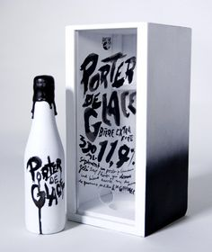 Typeverything.com Porter de Glace Prototype beer...
