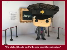 Sherlock didn't know much about art, but he knew something was wrong.