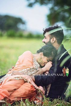"Photo from Taranveer Singh Photography ""Wedding photography"" album Indian Wedding Couple Photography, Wedding Couple Poses Photography, Wedding Couple Photos, Cute Couples Photos, Wedding Couples, Couple Shoot, Couple Pics, Pre Wedding Poses, Pre Wedding Shoot Ideas"