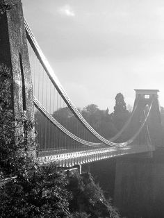Black and White Photo: amazing bridge photography... http://abduzeedo.com/amazing-brigde-photography