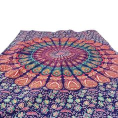 85bbf2815fb87 Plain Round Tapestry. Labhanshi Round tapestry Indian Mandala Round Roundie Beach  Throw Tapestry Hippy ...