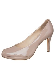 Högl Platform heels nude