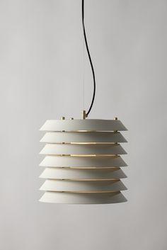 Maija by Ilmari Tapiovaara, for Santa&Cole Santa Cole, Metalarte, Fish Lamp, Diy Light Fixtures, Interior Desing, Vintage Chandelier, Ceiling Lamp, Pendant Lamp, Lighting Design