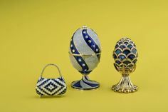 Faberge Style Trinket Box by Keren Kopal