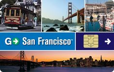 1 to 7 Days Card to San Francisco
