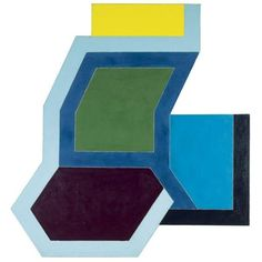 Sunapee I - Frank Stella - 1966 - Geometric Abstraction Frank Stella, Stella Art, Hard Edge Painting, Action Painting, Modern Art, Contemporary Art, Post Painterly Abstraction, Josef Albers, Painting Gallery