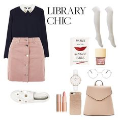 """""""Untitled #85"""" by jjexomusic ❤ liked on Polyvore featuring Ted Baker, Topshop, Charlotte Russe, Marc Jacobs, MANGO, Kate Spade, Nasty Gal and Daniel Wellington"""