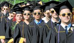 """2014 graduates of Jonathan Law High School in Milford were encouraged to """"listen to the whisper inside you"""" as they advance in life."""