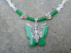 Check out this item in my Etsy shop https://www.etsy.com/listing/229235872/the-butterfly-goddess-jade-quartz-dragon