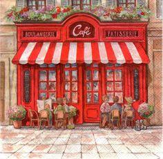 картинки для декупажа парижское кафе: 9 тыс изображений найдено в Яндекс.Картинках