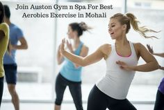Join Auston Gym n Spa for best aerobic classes in Mohali. Our training programs will helps you to make fitness an elemental part of your daily routine. We have a friendly and professional staff to guide you with best exercise and diet tips that helps you to achieve your fitness goals in minimum time. Contact us in happy hours and get a huge discount.