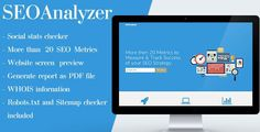 SEOAnalyzer . The owner of any online resource needs an effective website analyzing solution. So, you should definitely implement website analytics software into your website. If your website is made on WordPress then you can do this easily and #searchengineoptimizationdefinition,