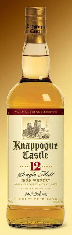 Fabulous spirits (we're a bit biased)! Knappogue - pronounced NAH-pogue (rhymes with brogue!) Ireland