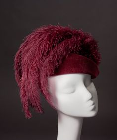 Maximum Feathers 'Maxima' Cocktail Hat in by HouseofNinesDesign, $225.00
