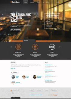 TheLandmar business center by Chingiz Adilov, via Behance