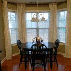 do you know how expensive bay window curtain rods are i never knew until i started looking online for one last spring when i was tryin