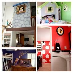 Anaheim Castle houses - Disney themed vacation rentals - way better than a cramped hotel! Creswell Creswell Walt we should look into this!