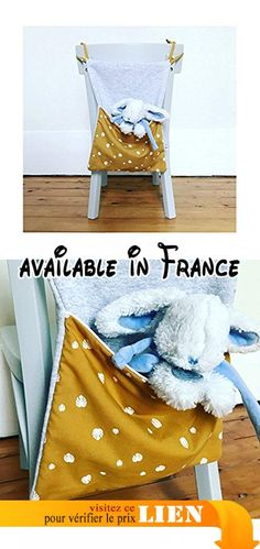 Range doudou ou range pyjama - Motif moutarde/blanc.  #Guild Product #GUILD_HOME