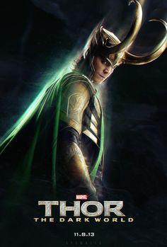 Visuasys // Movie Friday: 15 Alternative 'Thor: The Dark World' Posters #marvel #movies #Thor