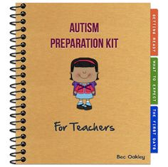 Autism Preparation Kit: make a custom notebook for high functioning/ Asperger-related issues, to use at IEP meetings Autism Resources, Teacher Resources, Teacher Tips, Teaching Ideas, Teaching Time, Teacher Stuff, Classroom Organization, Classroom Management, Classroom Ideas