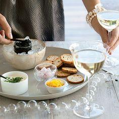 California Caviar Tasting Recipe   MyRecipes