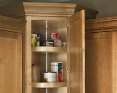 lazy susan upper corner cabinet design ideas pictures remodel and decor - Upper Corner Kitchen Cabinet Ideas