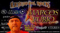 Entrevista a Marcos Rubio, organizador del Festival Leyendas del Rock