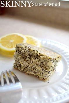 Skinny State of Mind: Lemon Poppy Seed Cake