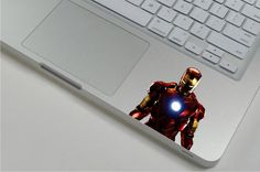 Iron Man 1 ---  Mac Wrist Decal
