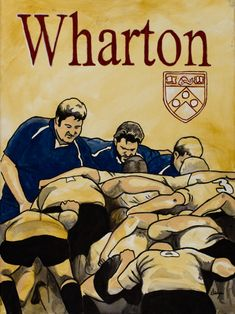 Wharton Warthogs Rugby Club, University of Pennsylvania, my hubby played with them when he was in grad school!