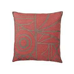 Terracotta Salon Pillow Cover | Serena & Lily