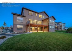 Back view: $639,432 Reduced by $52,602 (7.6%) on 10/05/15 Single Family Home 4 Beds 5 Baths 3 Car Garage 5,629 Sqft 2577 Bluestem Willow Dr Loveland, CO 80538 Loveland Homes For Sale - CO Loveland Real Estate Listings
