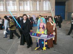#cosplay #sona #arcade #salonmanga #jerez #league #lengends #jedi #star #wars  más en www.cosplaysouth.com