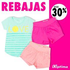 ¡Lo mejor de estas prendas es el precio! #Optima #NiñaOptima #Rebajas