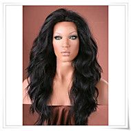 """12""""-22"""" Synthetic Lace Front Natural Wave Wigs Photo Color #1B Length 22inch Heat Friendly LFS002 – GBP £ 73.92"""