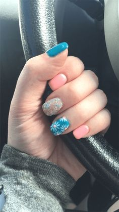 Stunning Acrylic Short Nails Designs You Must Try - Nail Art Connect : Stunning ...  Stunning Acrylic Short Nails Designs You Must Try – Nail Art Connect : Stunning Acrylic Short Nai #GelNailsAcrylic
