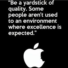 Excellence by Steve Jobs quote