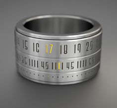 Time Wrapped Around Your Finger. The Ring Clock Becomes A Reality! - if it's hip, it's here