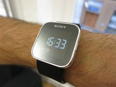The Sony SmartWatch, the successor to the Sony Ericsson LiveView adds touch functionality to a wrist watch. Digital Alarm Clock, Apple Watch, Smart Watch, Sony, Smartwatch