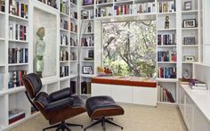Oh, how I need a book nook...