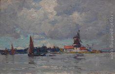 Dordrecht  by Terrick Williams [British painter, 1860-1936]