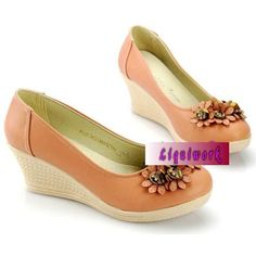 Wholesale Pink Wedge Fashion Bridesmaid Prom Party Ball Shoes Online SKU-1090683