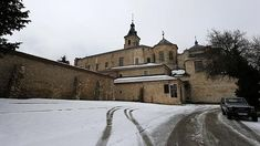 Monasterio de Santa María de El Paular, en invierno- JAIME GARCÍA -  Los monasterios más impresionantes de España