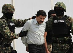 """Joaquin """"El Chapo"""" Guzman have been recaptured yesterday byMexican authorities, six months after the fugitive drug lord break out of prison. READ MOREMexican Drug Baron Threaten To Rain Terror On…"""