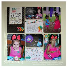 Constantly Stamping: Artisan Wednesday WOW - Project Life® by Stampin' Up!®