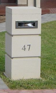 Cool Mail Box no by caststone products via Flickr http